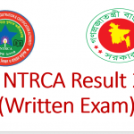 16th Ntrca Result 2020 (Written Exam)