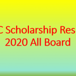 JSC Scholarship Result 2020 All Board