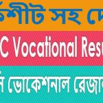 Check BTEB SSC Vocational Examination Result 2020 With Marksheet Download
